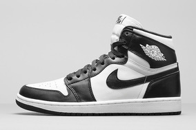 air jordan 1 blanco con negro