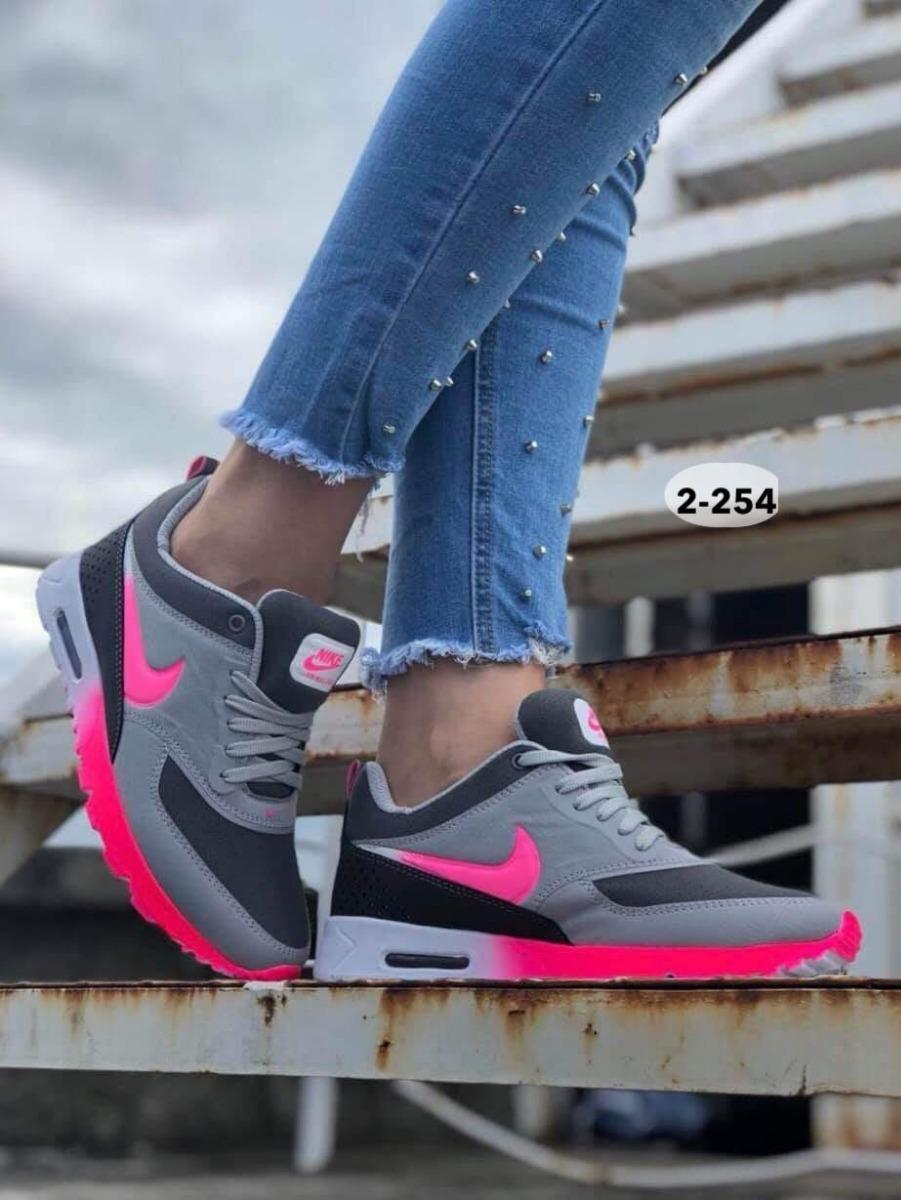 Zapatos Nike Air Max 3d Dama Gym Colombianos Botas Gomas
