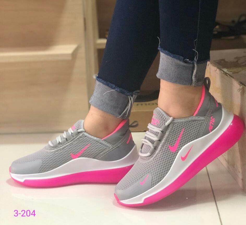 Zapatos Nike Air Max 720 Negros Dama Deportivos Colombianos