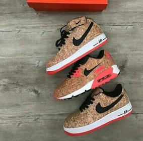 tienda en línea mejor proveedor super especiales Zapatos Nike Air Max 90 Y Force One Corcho