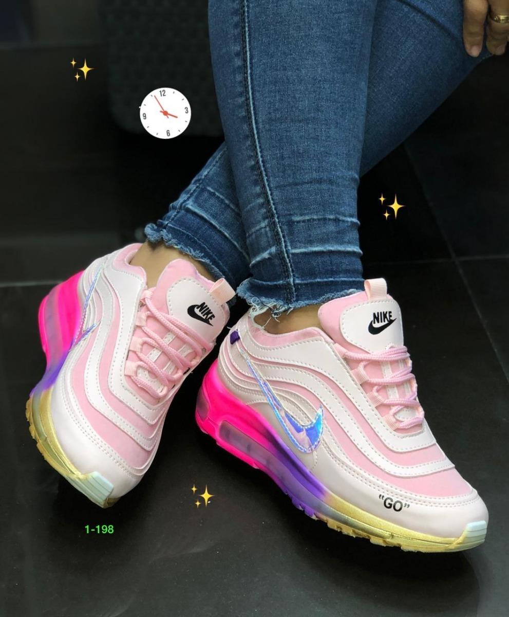 2a94bfb0d92 zapatos nike air max 97 go dama deportivos colombianos gym. Cargando zoom.