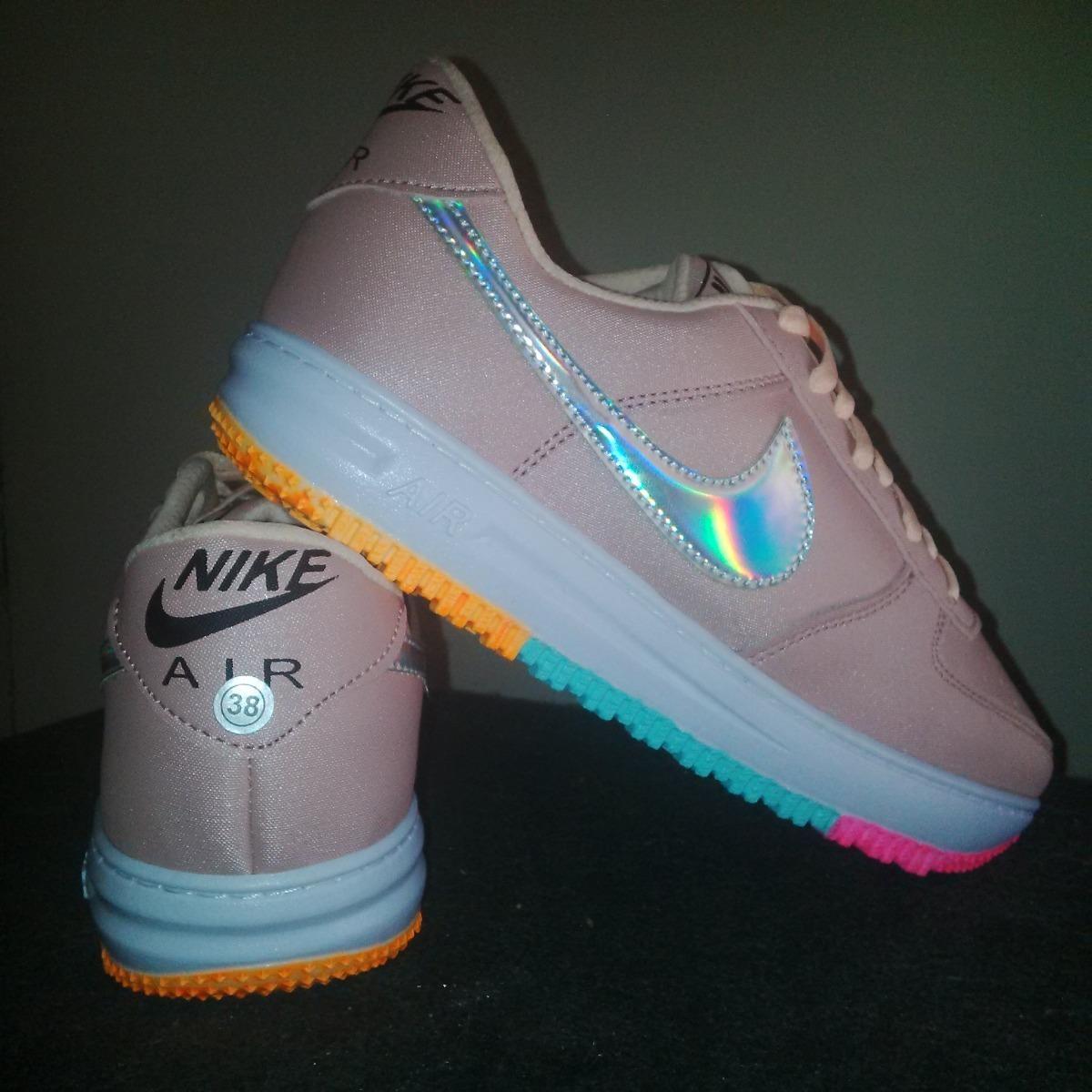 Zapatos Nike Air Max Arcoiris Dama Gym Colombianos