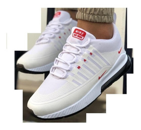 Damas Zapatos Asis Air Caballeros Para Nike Max Blanco Y 92IHED