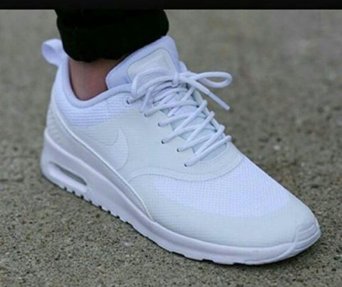 104b65655cacb Zapatos Nike Air Max  Blanco Y Negro -   75.000 en Mercado Libre