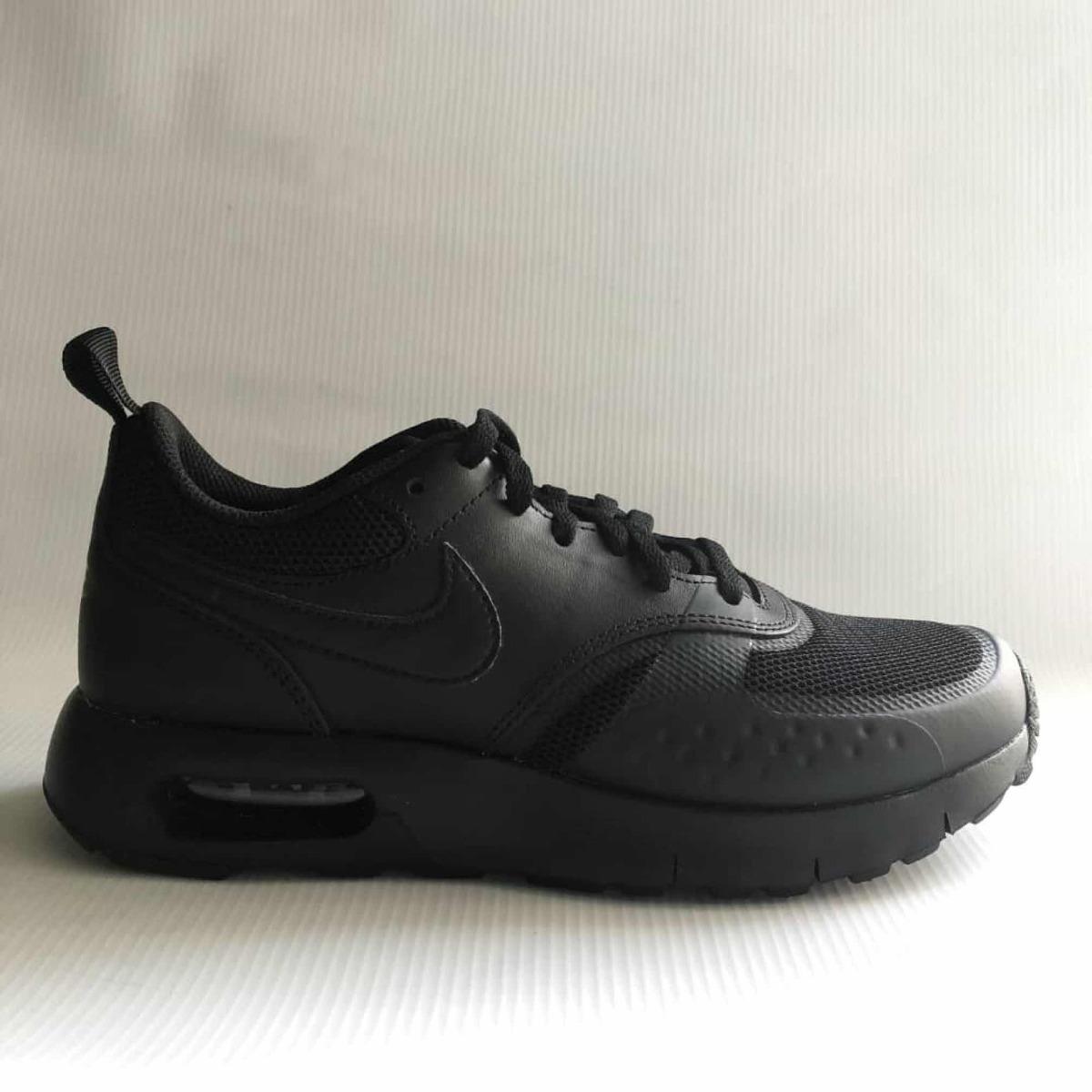 De Negros Niños Air Original Max Cuero Zapatos Nike Para 80OPkXnw