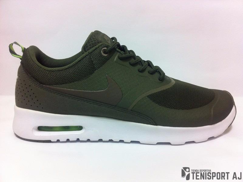 nike air max thea verde militar