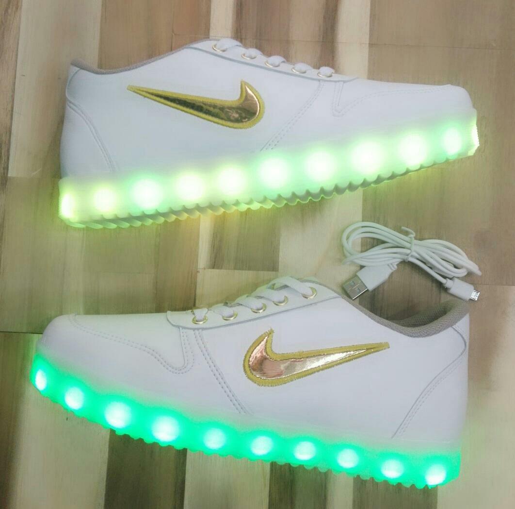 Con 1 Led Mercado En Bs Nike Libre 25 Zapatos Luces aqw5OWBS