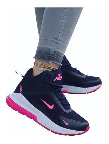 zapatos nike dama deportivos colombianos doble suela