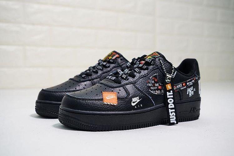 50dba818140 zapatos Nike Force One Just Do It Negros   - U S 70