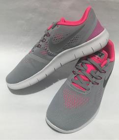 922e06890e Zapatos Nike Free Gris Con Fucsia - Zapatos Deportivos en Mercado Libre  Venezuela