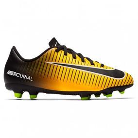01893cd5f6469 Zapatos Nike Junior Mercurial Vortex 3 Fg 22.5-24 Original