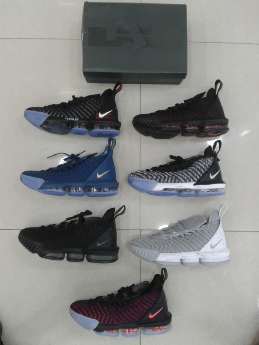 c6073eda000 Zapatos Nike Lebron James 16 Para Damas Y Caballeros - Bs. 406.444 ...