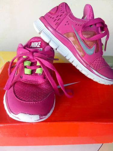 zapatos nike original poco uso talla 26 para niñas
