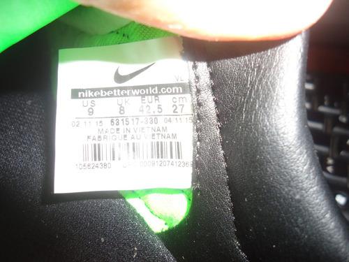 zapatos nike tiempo legacy talla 9 equivalente a 40