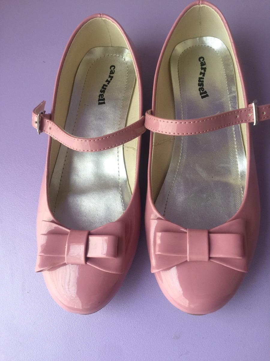 amplia selección de colores claro y distintivo nueva llegada Zapatos Niña Ballerinas Palo Rosa