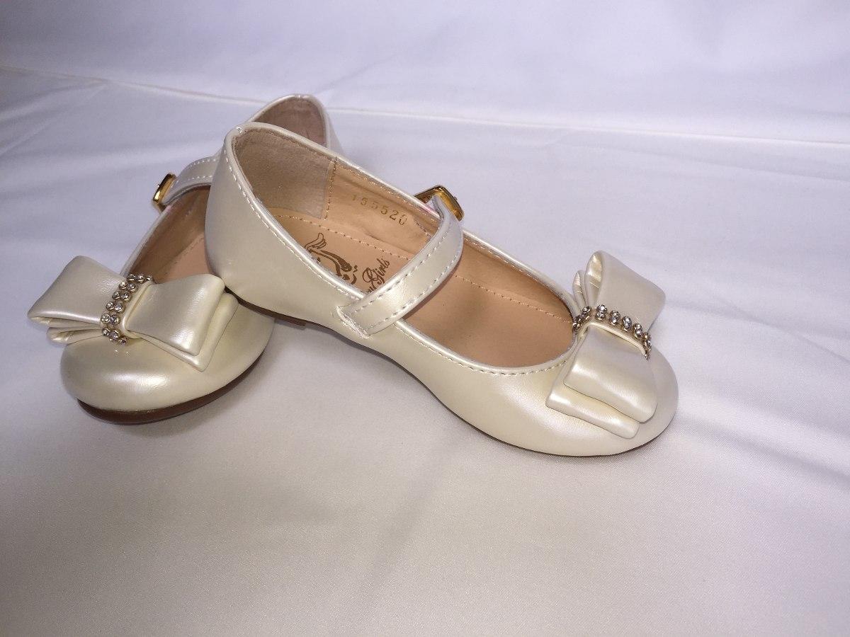 a38d0354e20 Zapatos Niña Casual Moderno Princesa Beige Nacarado - $ 270.00 en ...