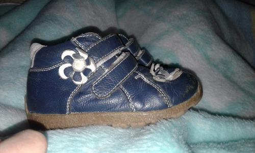zapatos niña n°24 azules