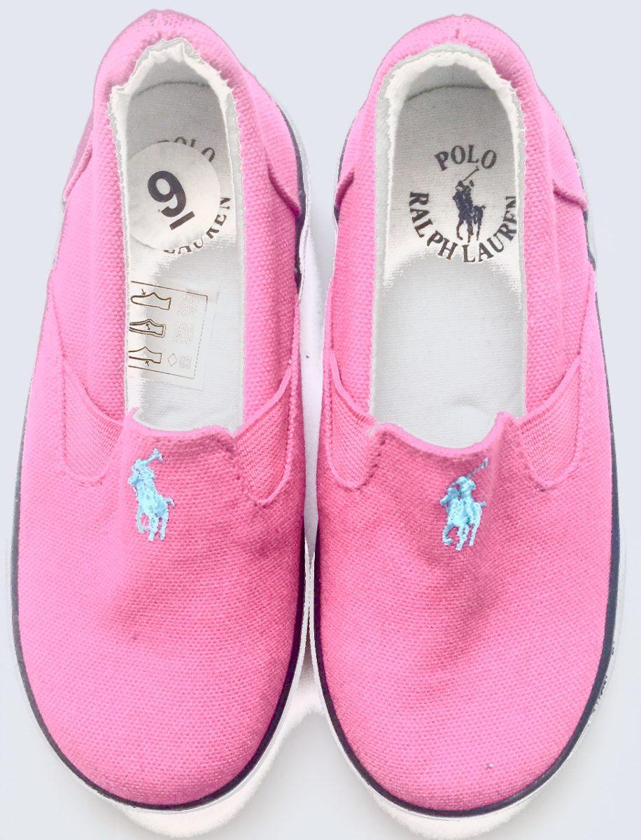 51017d36d62 Zapatos Niña Polo Ralph Lauren Rosa Nuevos 100% Original ...