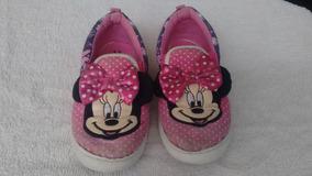 cc3078cfc42 Zapatos Niña Usados Talla 29 Disney Minnie. Bs. 20.000