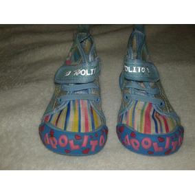 144f1245b4664 Zapatos Botas De Bebe Apolito Talla 19
