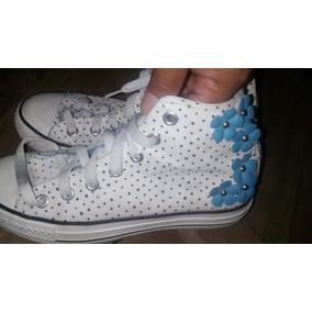35f7076e140 Botines Tejidos Para Niñas - Zapatos Blanco en Mercado Libre Venezuela