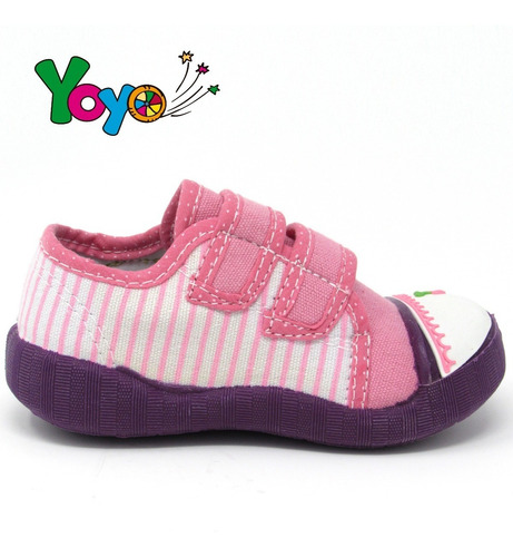 zapatos niñas yoyo l1013 rosado 19-24. envío gratis