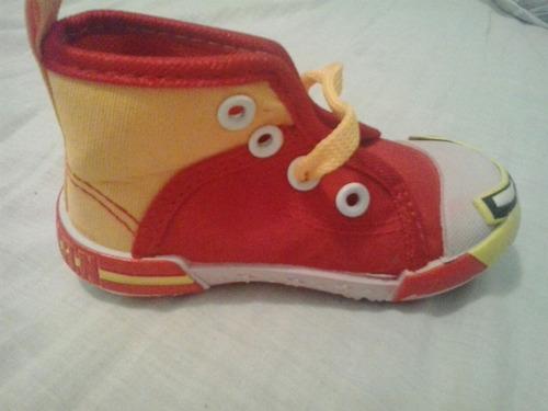 zapatos niño bebé superheroe iron man