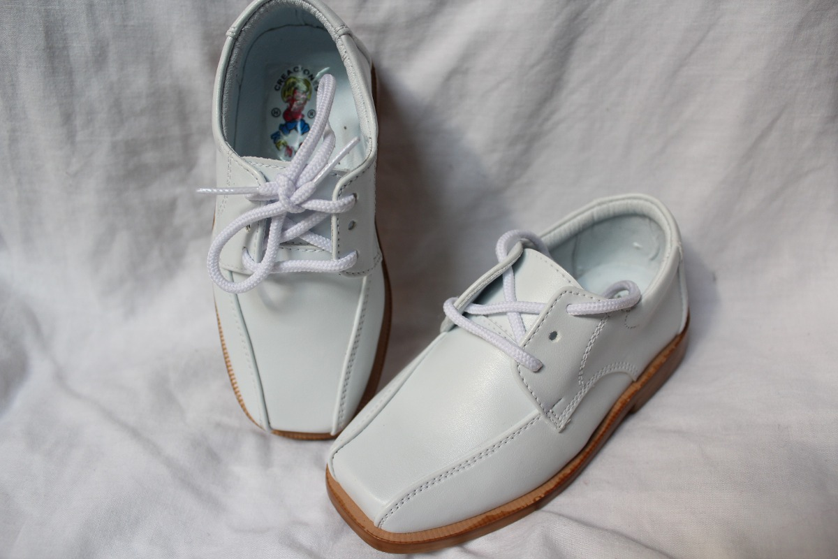 ff9ed4fb7fb zapatos niño cuero blanco para primera comunión 100% nuevos. Cargando zoom.