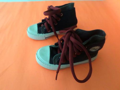 zapatos niño tipo converse talla 24 poco uso