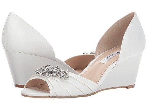 zapatos novia taco chino talle 36 peep toe boca de pescado - $ 3.950