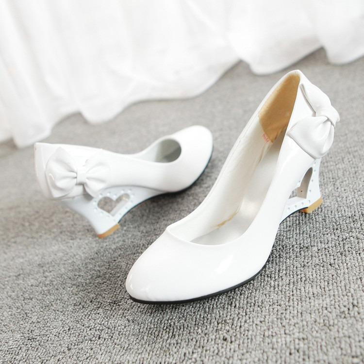 zapatos novia taco corazón - $ 32.500 en mercado libre