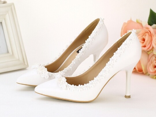 zapatos novias taco 7,5 cm - $ 4.500,00 en mercado libre