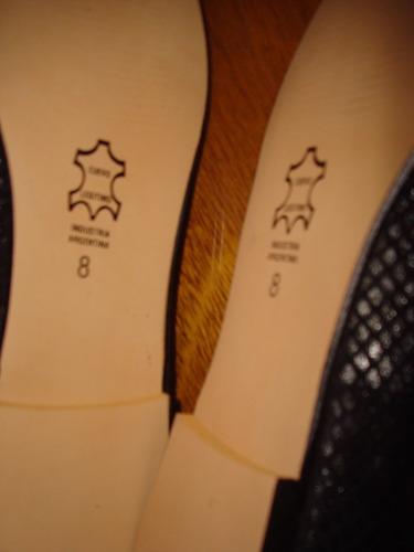 zapatos nuevos a medida negro.