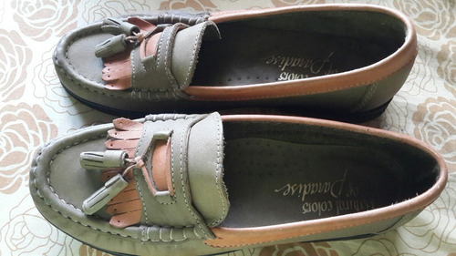 zapatos nuevos de cuero para mujer
