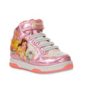 Zapatos O Botas De Niñas Princesa Bella Disney Talla 10 (us)
