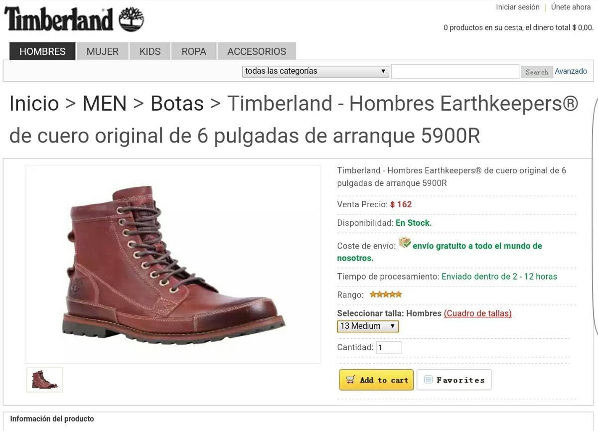 Botas Timberland 100 % Originales Y 100% Nuevas Talla 13 Us