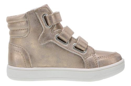 zapatos o botines brash dorado talla 37