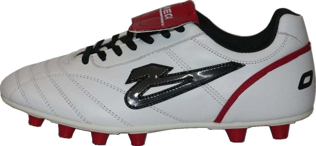 7a47ab239610b Zapatos Olmeca De Futbol Francia Blanco rojo Mf -   689.00 en ...