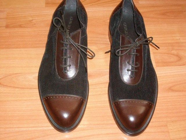 c4294e79a0e Zapatos Originales Para Caballero Giorgio Armani - $ 2,900.00 en ...