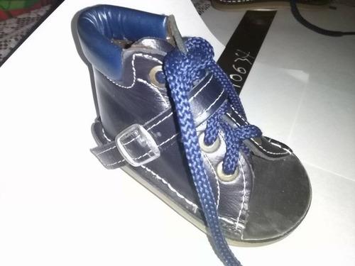 zapatos ortopédico de bebe para dormir con barra gradual
