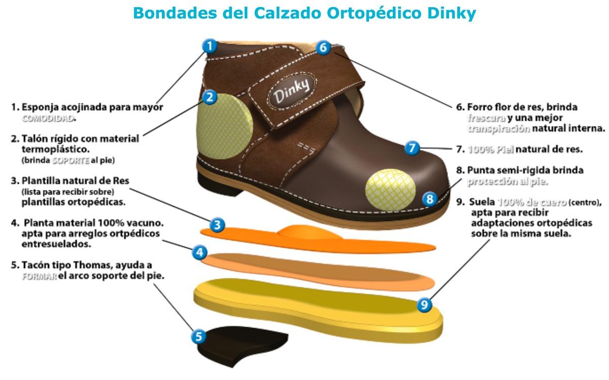 c26591ddf Zapatos Ortopedicos Dinky Nina Mod 457 829 00 En Mercado Libre