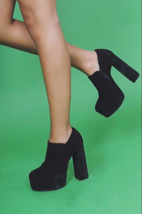 incomparable la venta de zapatos barato mejor valorado Zapatos Outlet Altos Gamuza Nuevos No Sarkany