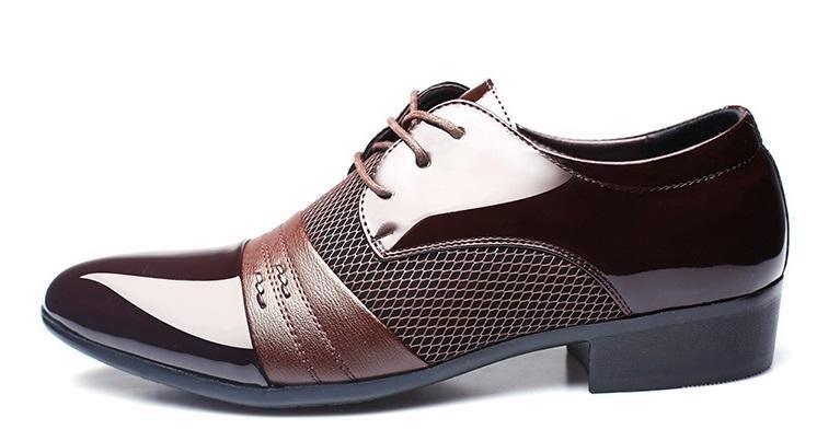 f9528d39a61 Zapatos Oxford De Alta Calidad Negros Y Marrones Únicos 2018 - S ...