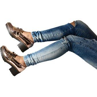 Oxford Outfit Dorado Nantes 125 En 860 Mujer Zapatos Para zqffOw