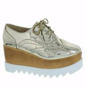 zapatos oxford plataforma para dama importados usa tendencia