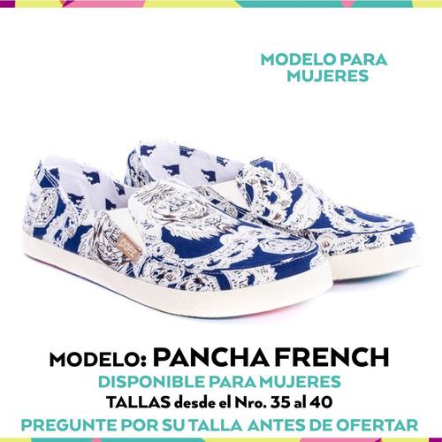 zapatos paez shoes mujer-pancha french-tallas 35 al 37