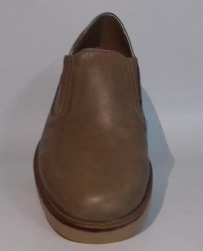 zapatos pancha de cuero para niños del 21 al 26
