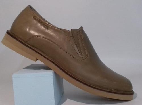 zapatos pancha de cuero para niños del 27 al 33