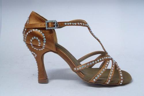 zapatos para bailar strass de salsa tango darcos s28326-dt