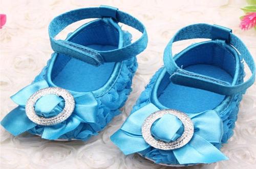 zapatos para bebés mujer fiesta elegante lazo no caminante